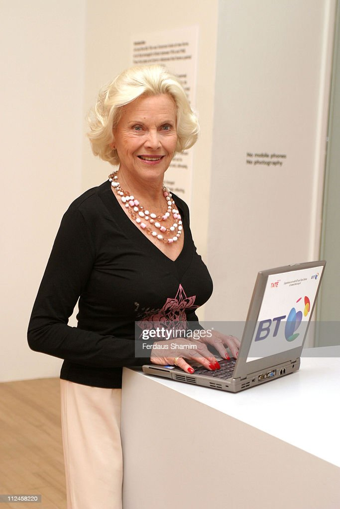 <a gi-track='captionPersonalityLinkClicked' href=/galleries/search?phrase=Honor+Blackman&family=editorial&specificpeople=215433 ng-click='$event.stopPropagation()'>Honor Blackman</a> during <a gi-track='captionPersonalityLinkClicked' href=/galleries/search?phrase=Honor+Blackman&family=editorial&specificpeople=215433 ng-click='$event.stopPropagation()'>Honor Blackman</a> Launches 'Let's Play 66' - An Online Quiz To Test Your Knowledge Of The Swinging Sixties at Tate Britain in London, Great Britain.