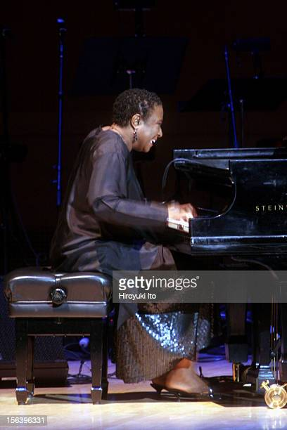 'Honor Blues Jazz Rhythm and Blues Soul and Beyond' at Carnegie Hall on Wednesday night March 4 2009This imageGeri Allen