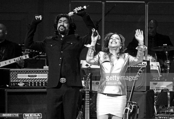 'Honor Blues Jazz Rhythm and Blues Soul and Beyond' at Carnegie Hall on Wednesday night March 4 2009 This image Ashford Simpson They are Nickolas...
