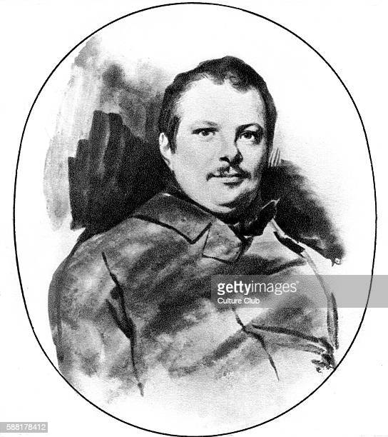 Honoré de Balzac portrait by Louis Boulanger French novelist and playwright 20 May 1799 18 August 1850