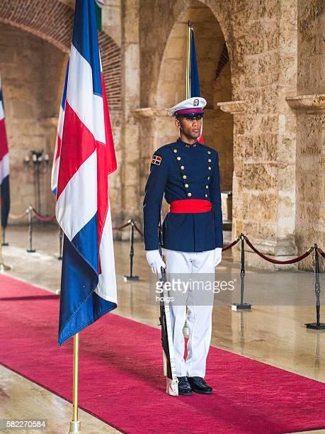 Honor Guard in Santo Domingo, Dominican Republic