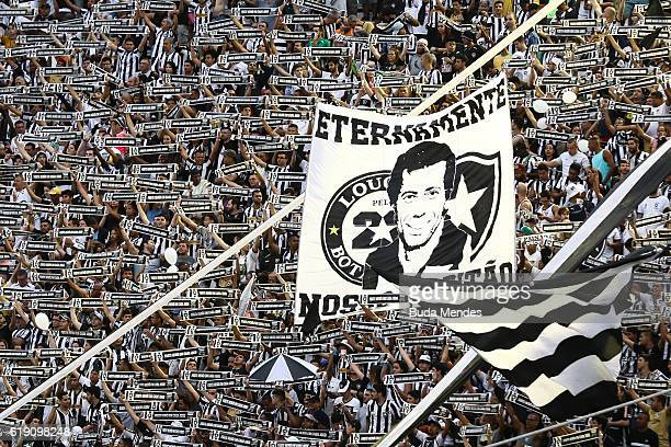 Honor of Botafogo fans to former player Carlos Alberto Torres who died this week before a match between Botafogo and Coritiba as part of Brasileirao...