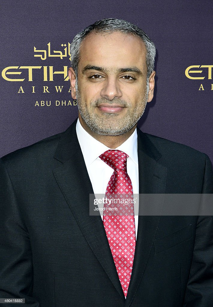 Honorable Consul General of The United Arab Emirates Abdulla Alsaboosi attends a gala to celebrate Etihad Airways' world-class, non-stop service between Los Angeles and Abu Dhabi at the iconic Beverly House on June 10, 2014 in Beverly Hills, California.