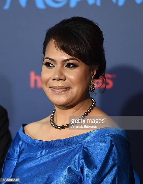 Honorable Frederica Tuita Filipe arrives at the AFI FEST 2016 Presented By Audi premiere of Disney's 'Moana' at the El Capitan Theatre on November 14...