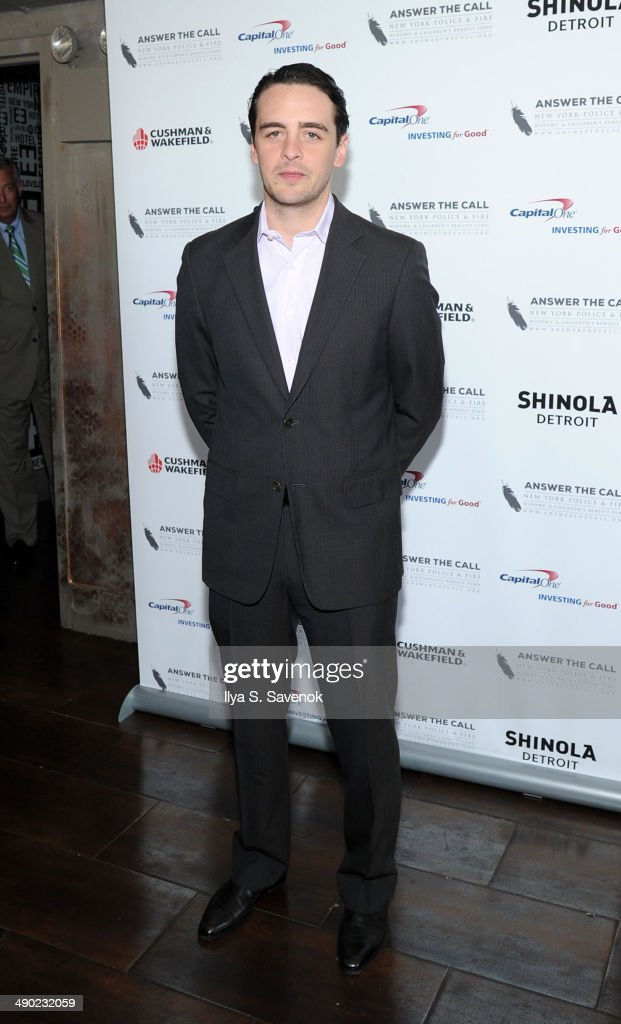 Honorary Chair Vincent Piazza attends the 2nd Annual New York Police Fire Widows' Children's Benefit Fund 'Kick Off To Summer' Benefit at Empire...