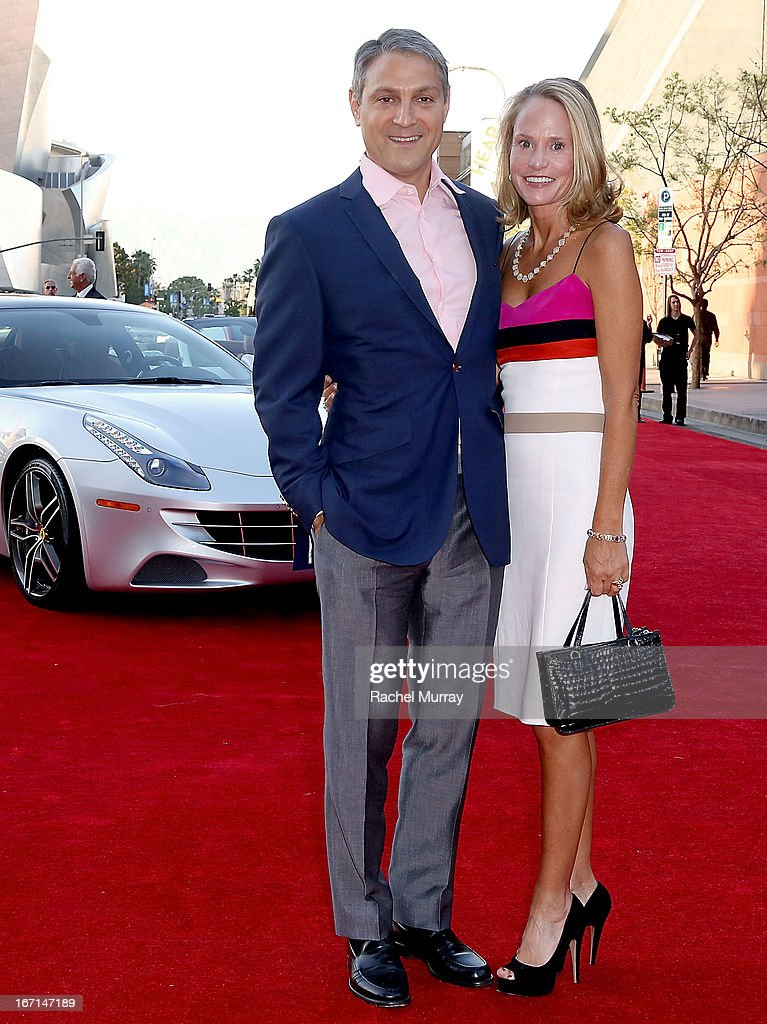 Honorary Chairs Ari Emanuel (L) and Sarah Emanuel attend 'Yessss!' MOCA Gala 2013, celebrating the opening of the exhibition Urs Fischer - Ferrari at MOCA Grand Avenue on April 20, 2013 in Los Angeles, California.