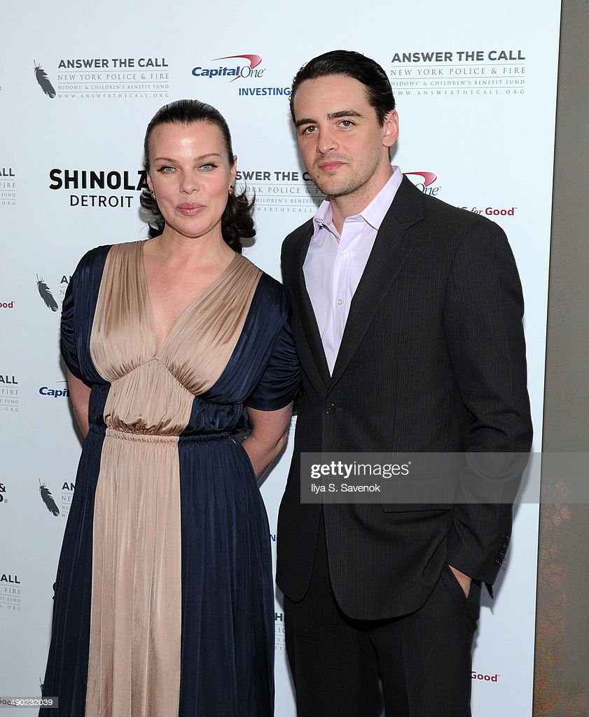 Honorary Chairs Deborah Mazar and Vincent Piazza attend the 2nd Annual New York Police Fire Widows' Children's Benefit Fund 'Kick Off To Summer'...