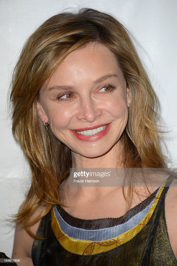 Honorary Co-Chair of Peace Over Violence Calista Flockhart arrives at the 41st Annual Peace Over Violence Humanitarian Awards held at Beverly Hills Hotel on October 26, 2012 in Beverly Hills, California.