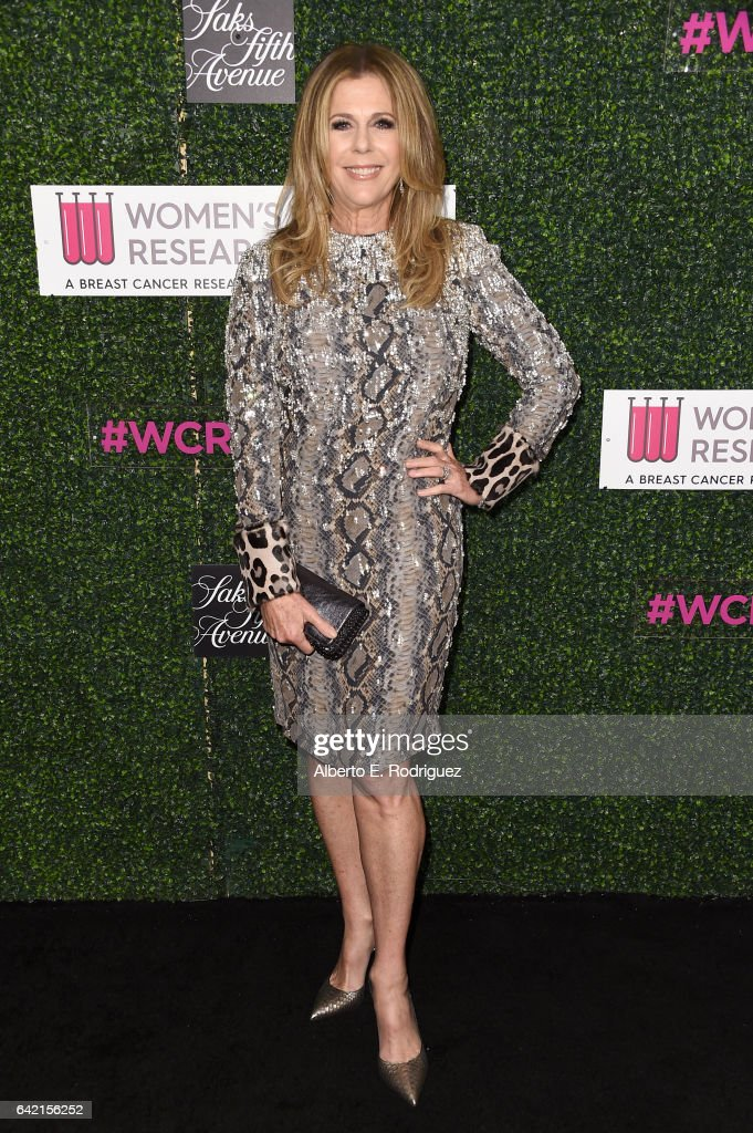 Honorary Co-Chair Rita Wilson attends WCRF's 'An Unforgettable Evening' presented by Saks Fifth Avenue at the Beverly Wilshire Four Seasons Hotel on February 16, 2017 in Beverly Hills, California.