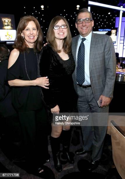 Honorary cochairs Jenny Savitsky Steve Savitsky and their daughter Nicole Savitsky attend JDRF LA's IMAGINE Gala to benefit type 1 diabetes research...