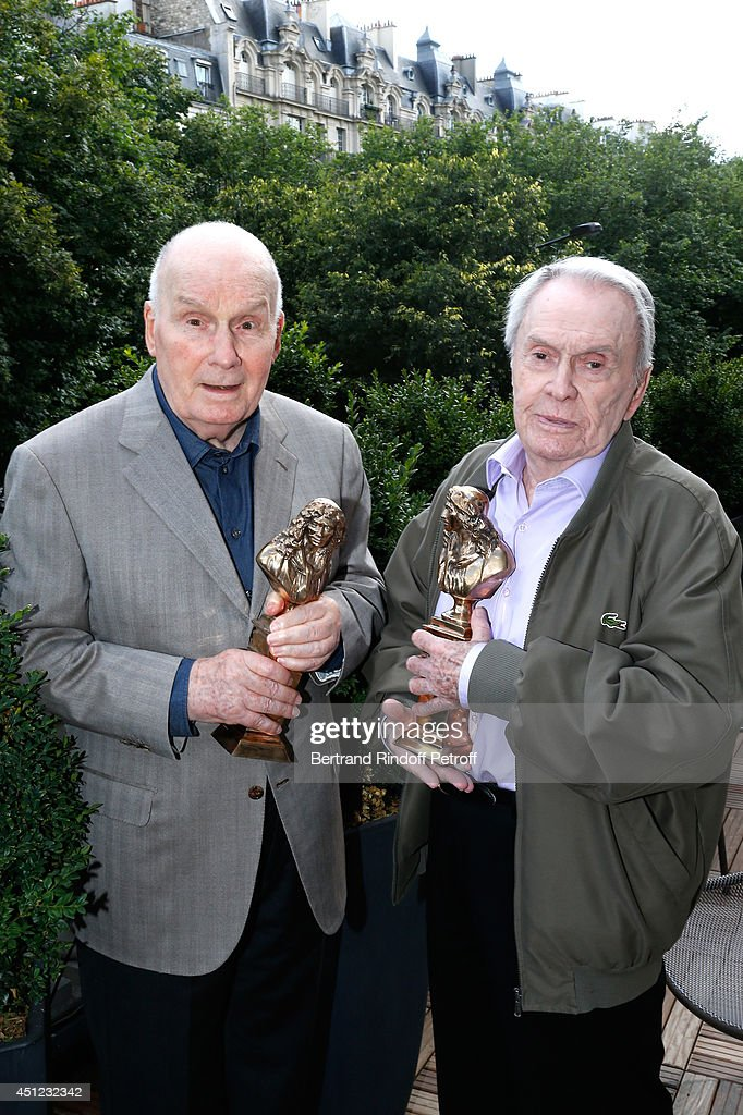 Honorary Moliere 2014 for all his career and actor from 'Le Roi se meurt' Michel Bouquet and Moliere 2014 of best comedian in 'Le Pere' Robert Hirsch...