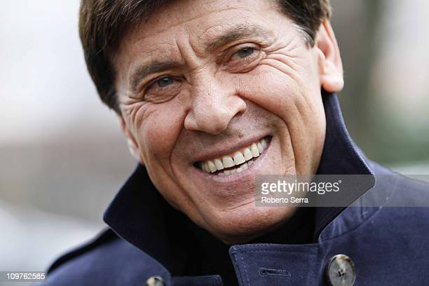 Honorary president of Bologna FC Gianni Morandi during the visit of members of the board to the Bologna FC team headquarters on March 1 2011 in...