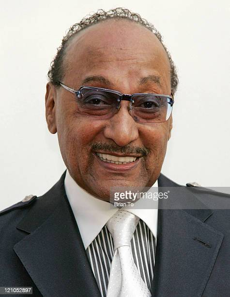 Honoree Abdul 'Duke' Fakir of the Four Tops arrives at The Recording Academy's Special Merit Awards Ceremony at Wilshire Ebell Theater on February 7...