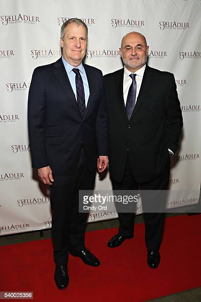 Honoree/ actor Jeff Daniels and writer/ actor Guy Sanville attend the Stella By Starlight 11th Annual Fundraising Gala at Prince George Ballroom on...