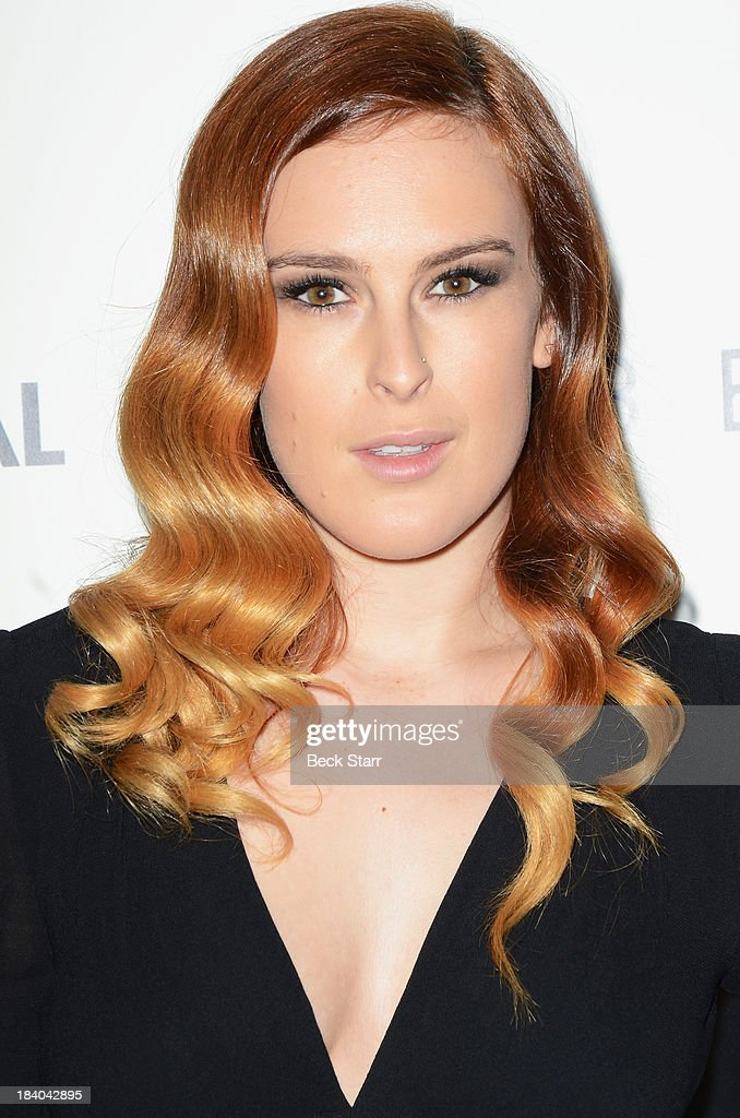 Honoree actress Rumer Willis arrives at the 2013 Bel-Air Film Festival Red Carpet Gala at Hammer Museum on October 10, 2013 in Westwood, California.