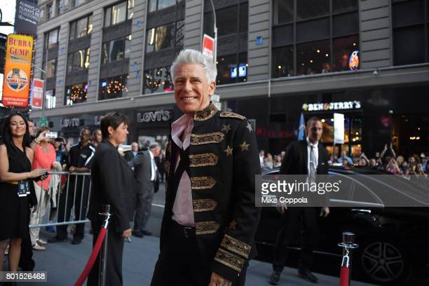 Honoree Adam Clayton of U2 arrives at the 13th Annual MusiCares MAP Fund Benefit Concert at the PlayStation Theater on June 26 2017 in New York City...