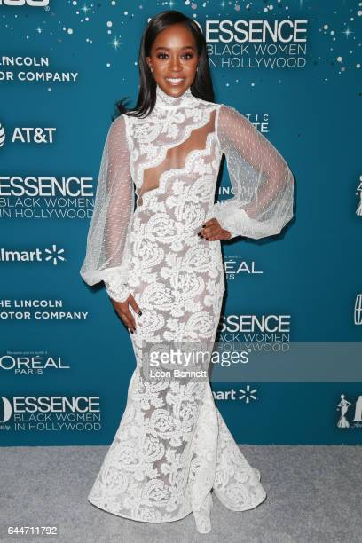 Honoree Aja Naomi King at Essence Black Women in Hollywood Awards at the Beverly Wilshire Four Seasons Hotel on February 23 2017 in Beverly Hills...