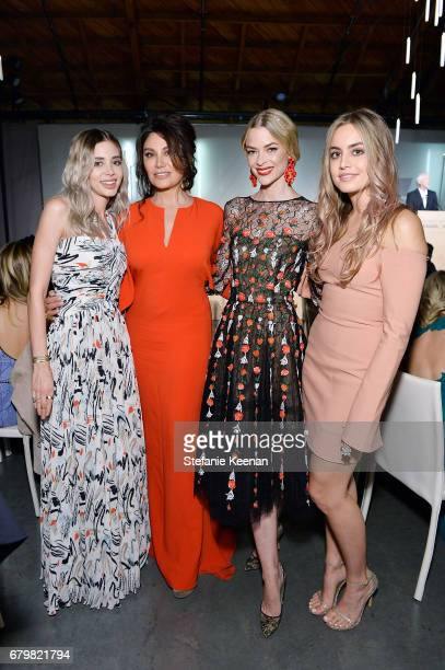 Honoree Alexandra Parker Erriette Lenas Jaime King and Victoria Lenas attend UCLA Mattel Children's Hospital presents Kaleidoscope 5 on May 6 2017 in...
