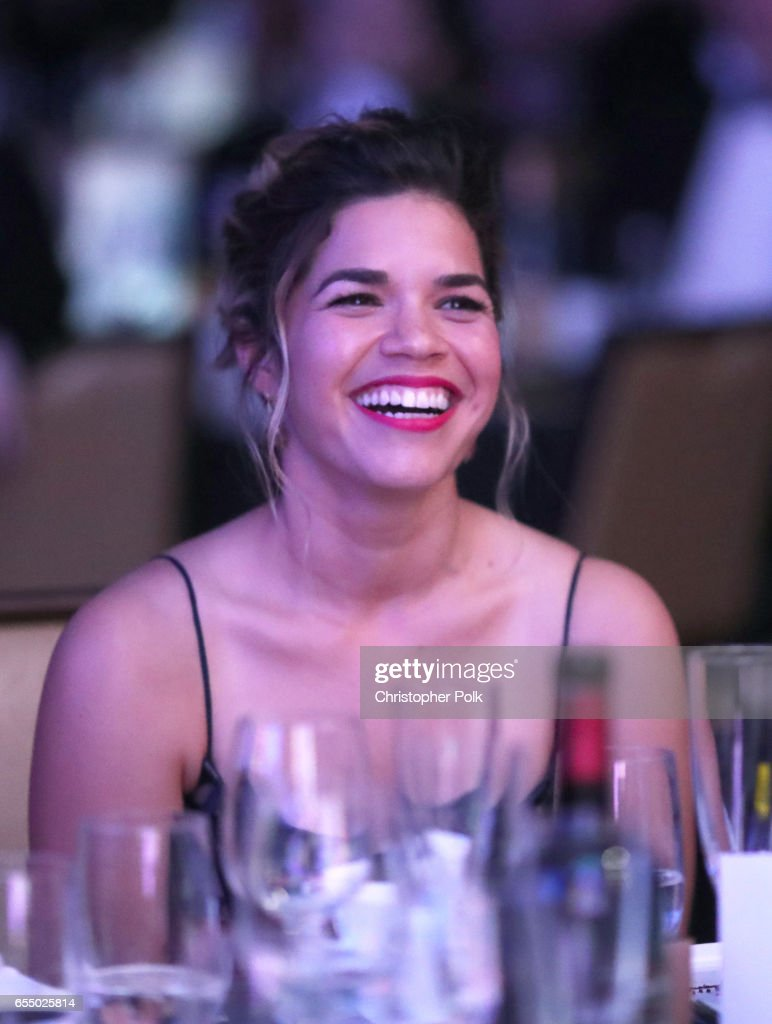 Honoree America Ferrera at The Human Rights Campaign 2017 Los Angeles Gala Dinner at JW Marriott Los Angeles at L.A. LIVE on March 18, 2017 in Los Angeles, California.