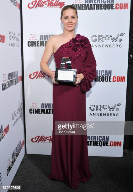 Honoree Amy Adams recipient of the American Cinematheque Award attends the 31st American Cinematheque Award Presentation Honoring Amy Adams Presented...