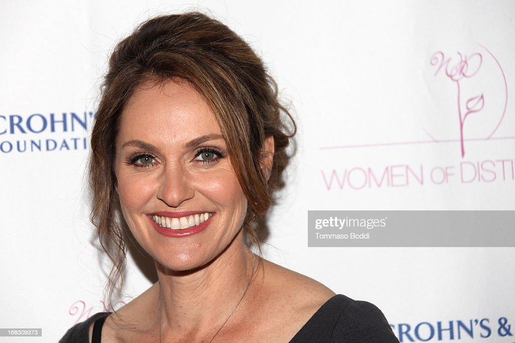 Honoree <a gi-track='captionPersonalityLinkClicked' href=/galleries/search?phrase=Amy+Brenneman&family=editorial&specificpeople=209217 ng-click='$event.stopPropagation()'>Amy Brenneman</a> attends the Women of Distinction luncheon held at Beverly Hills Hotel on May 8, 2013 in Beverly Hills, California.