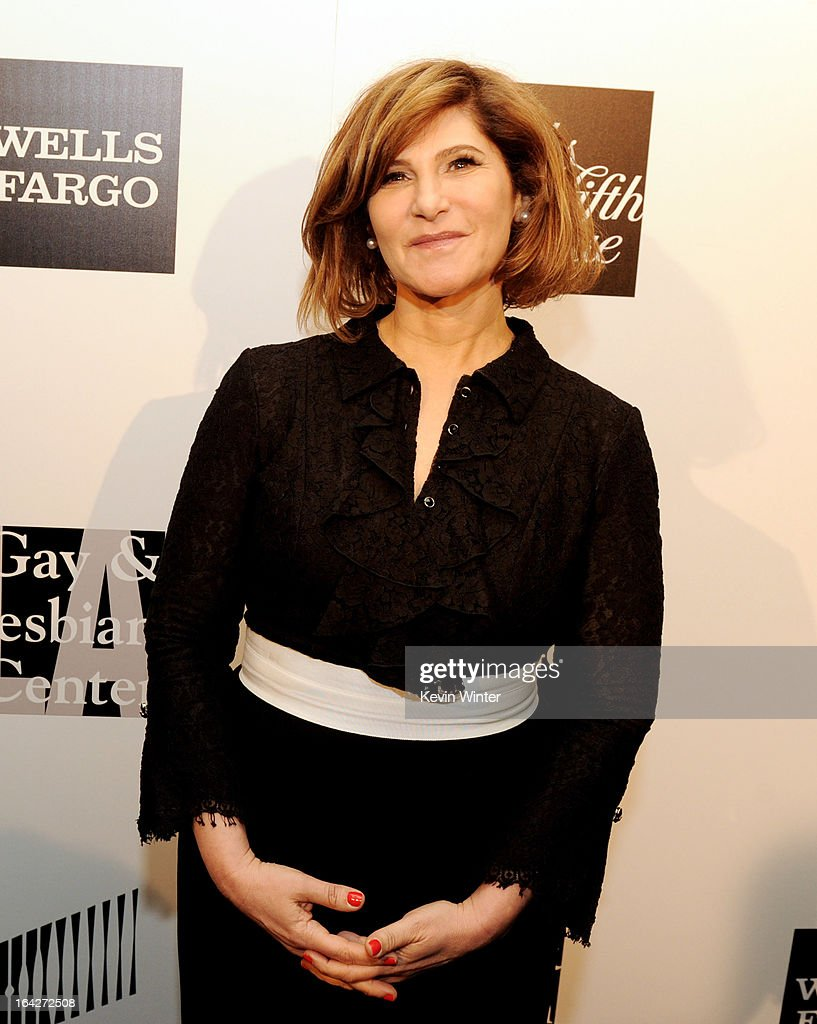 Honoree Amy Pascal, Co-Chairman, Sony Pictures Entertainment arrives at 'An Evening' benifiting The L.A. Gay & Lesbian Center at the Beverly Wilshire Hotel on March 21, 2013 in Beverly Hills, California.