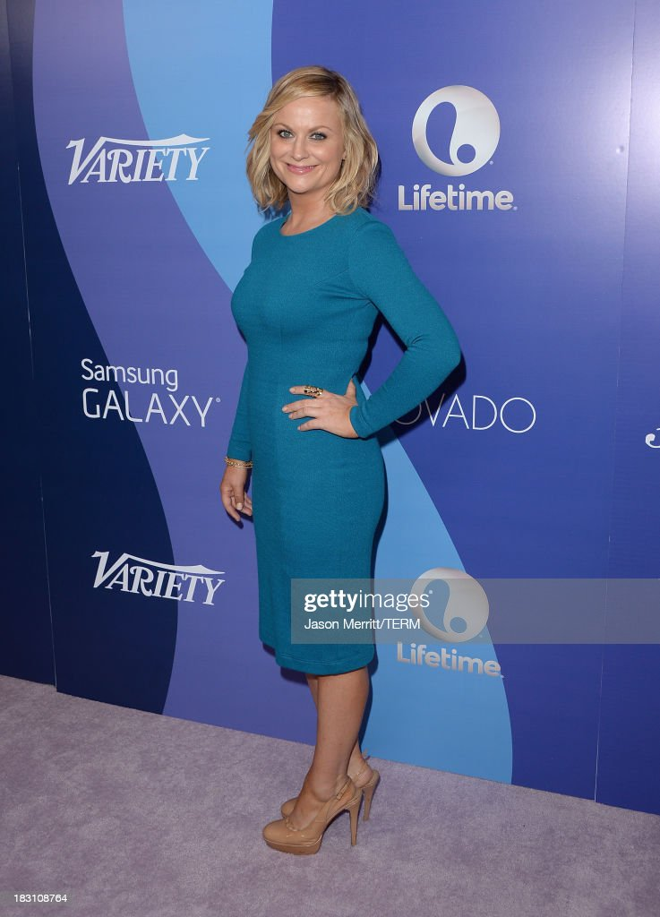 Honoree <a gi-track='captionPersonalityLinkClicked' href=/galleries/search?phrase=Amy+Poehler&family=editorial&specificpeople=228430 ng-click='$event.stopPropagation()'>Amy Poehler</a> arrives at Variety's 5th Annual Power of Women event presented by Lifetime at the Beverly Wilshire Four Seasons Hotel on October 4, 2013 in Beverly Hills, California.