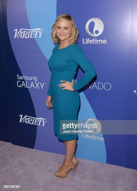 Honoree Amy Poehler arrives at Variety's 5th Annual Power of Women event presented by Lifetime at the Beverly Wilshire Four Seasons Hotel on October...