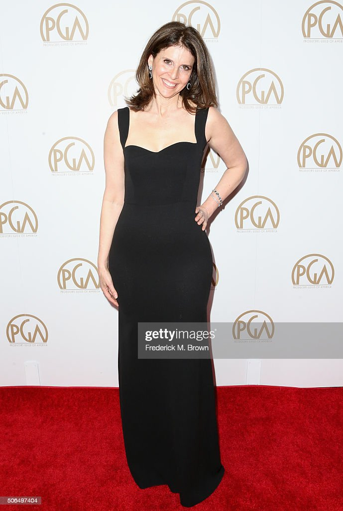 Honoree Amy Ziering attends the 27th Annual Producers Guild Of America Awards at the Hyatt Regency Century Plaza on January 23 2016 in Century City...