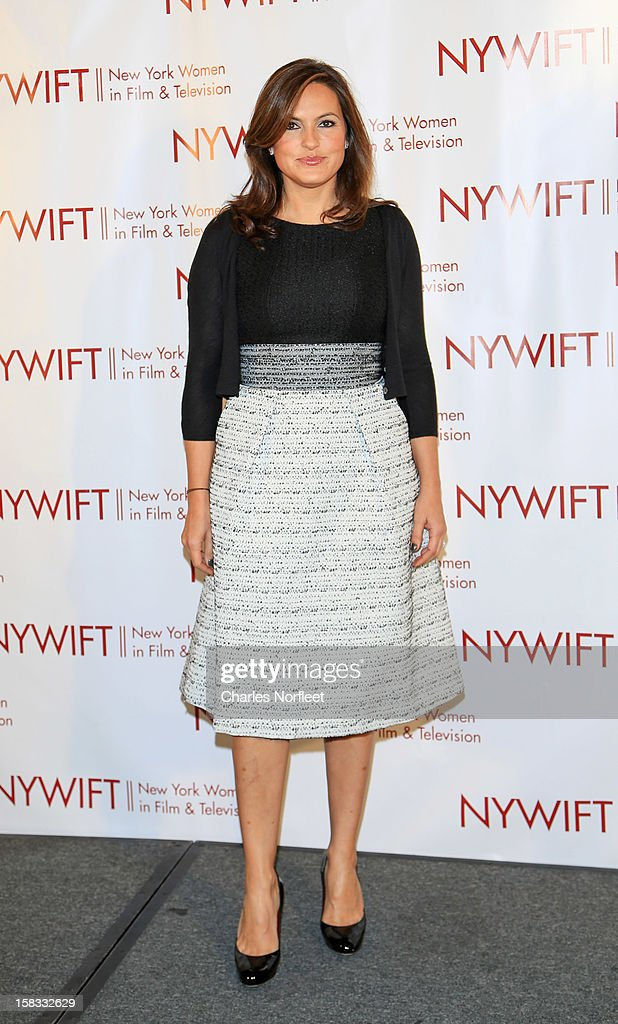 Honoree and actress Mariska Hargitay attends the 2012 New York Women In Film And Television Muse Awards at the Hilton New York on December 13, 2012 in New York City.