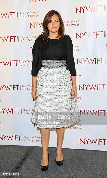 Honoree and actress Mariska Hargitay attends the 2012 New York Women In Film And Television Muse Awards at the Hilton New York on December 13 2012 in...