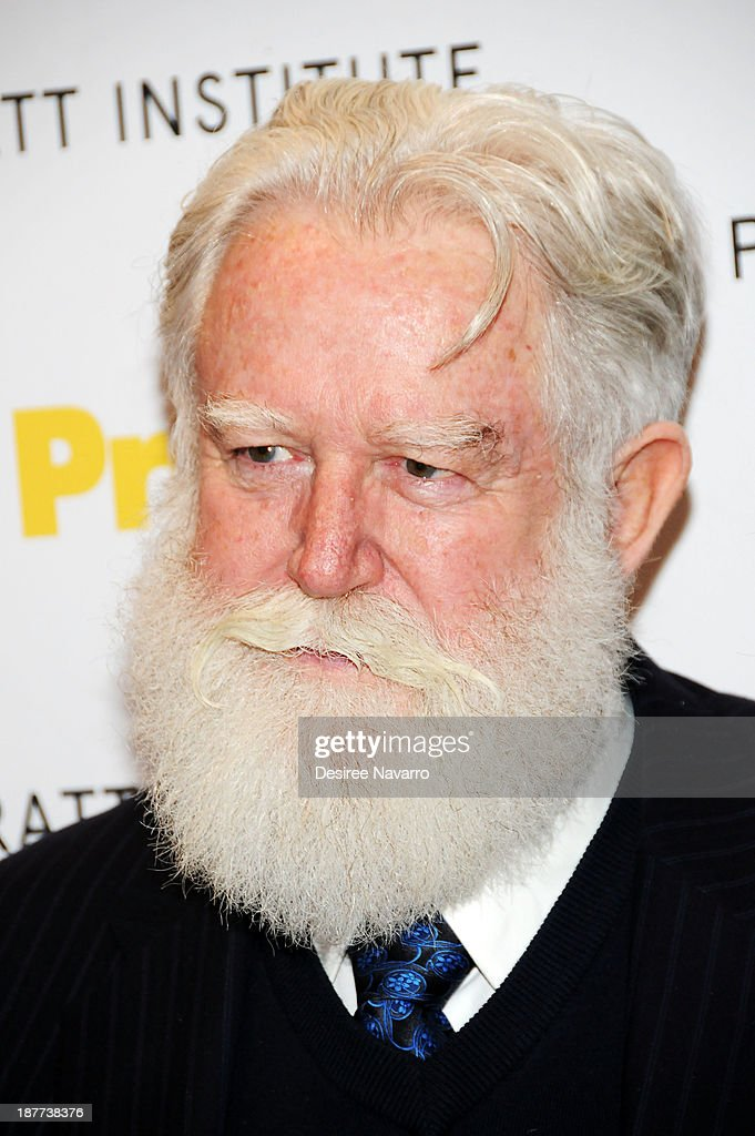 Honoree and artist James Turrell attends the 2013 Pratt Institute gala at Mandarin Oriental Hotel on November 11 2013 in New York City