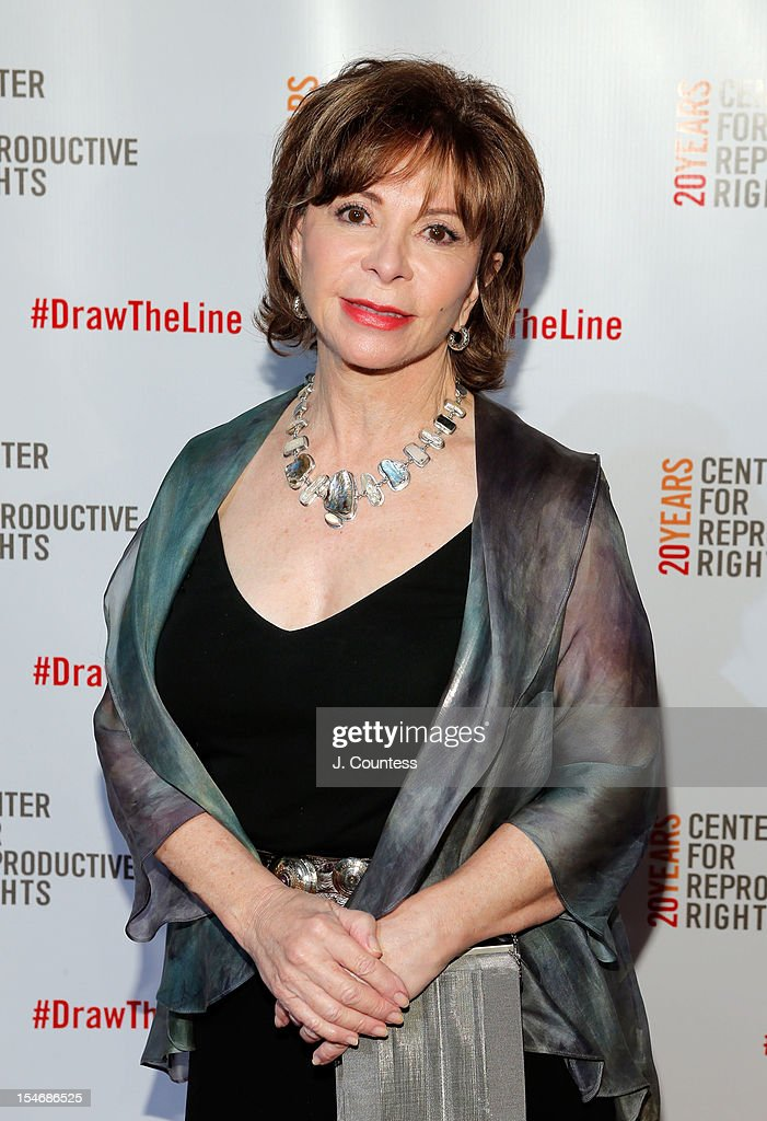 Honoree and author Isabel Allende attends the Center For Reproductive Rights Inaugural Gala at Jazz at Lincoln Center on October 24, 2012 in New York City.