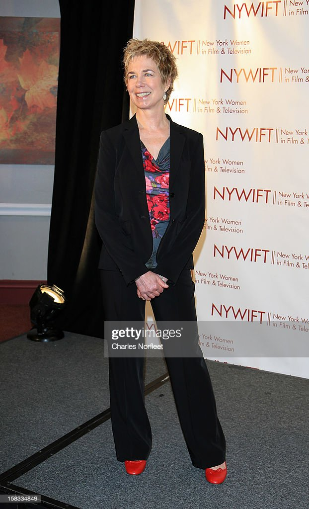 Honoree and documentary filmmaker Lisa F. Jackson attends the 2012 New York Women In Film And Television Muse Awards at the Hilton New York on December 13, 2012 in New York City.