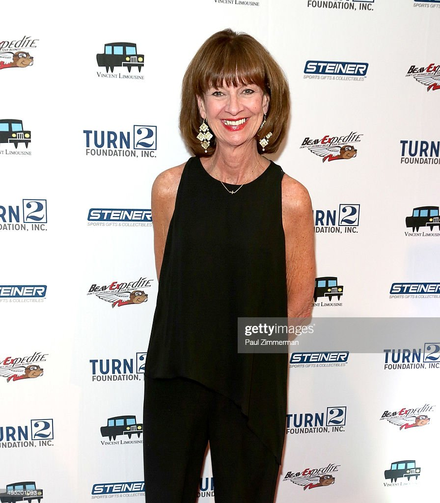 Honoree and New York Yankees SVP Marketing Deborah Tymon attends the Derek Jeter 18th Annual Turn 2 Foundation dinner at Sheraton New York Times Square on June 1, 2014 in New York City.