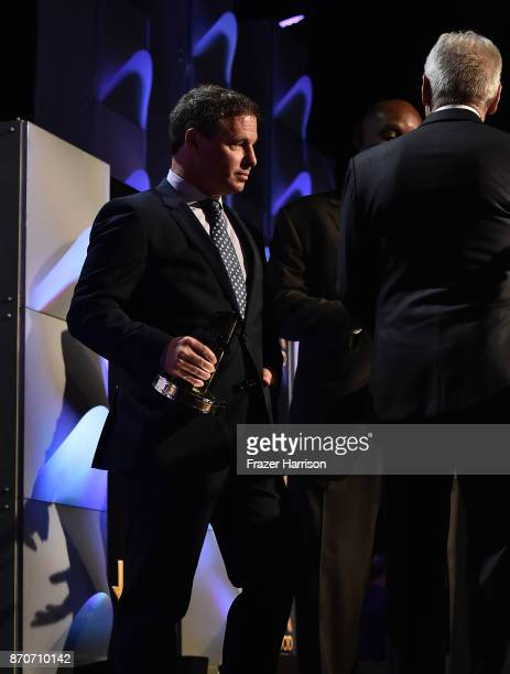 Honoree Andrew A Kosove accepts the Hollywood Producer Award for 'Blade Runner 2049' onstage at the 21st Annual Hollywood Film Awards at The Beverly...