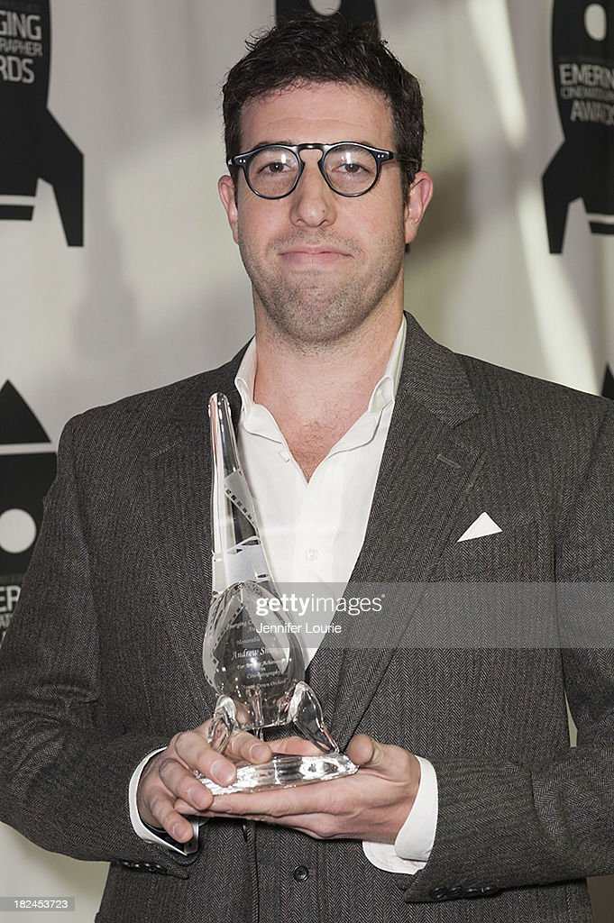 Honoree Andrew Shulkind attends The International Cinematographers Guild's 17th Annual Emerging Cinematographer Awards at Directors Guild Of America on September 29, 2013 in Los Angeles, California.