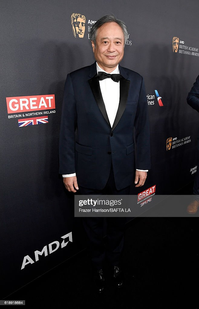 Honoree Ang Lee attends the 2016 AMD British Academy Britannia Awards presented by Jaguar Land Rover and American Airlines at The Beverly Hilton Hotel on October 28, 2016 in Beverly Hills, California.