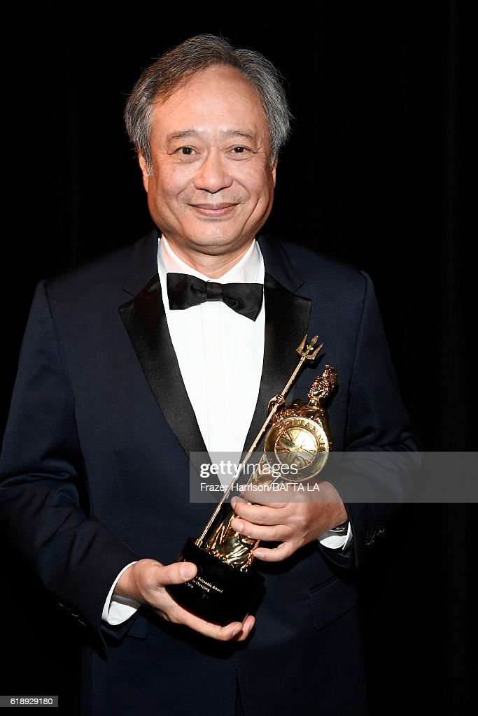 Honoree Ang Lee, recipient of the John Schlesinger Britannia Award for Excellence in Directing, attends the 2016 AMD British Academy Britannia Awards presented by Jaguar Land Rover and American Airlines at The Beverly Hilton Hotel on October 28, 2016 in Beverly Hills, California.