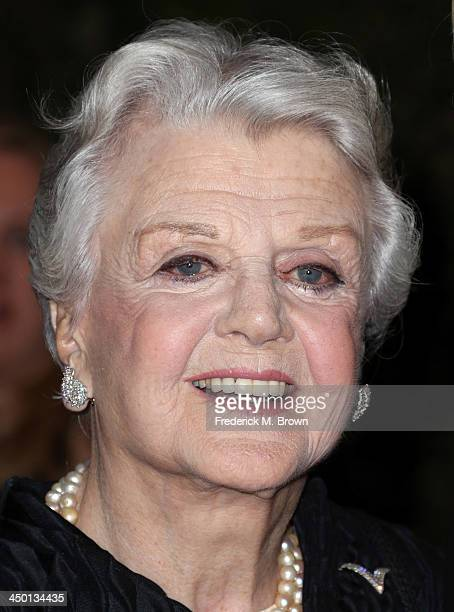 Honoree Angela Lansbury arrives at the Academy of Motion Picture Arts and Sciences' Governors Awards at The Ray Dolby Ballroom at Hollywood Highland...