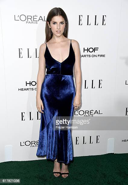 Honoree Anna Kendrick attends the 23rd Annual ELLE Women In Hollywood Awards at Four Seasons Hotel Los Angeles at Beverly Hills on October 24 2016 in...