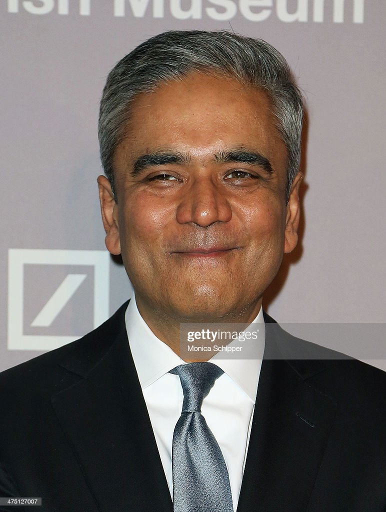 Honoree <a gi-track='captionPersonalityLinkClicked' href=/galleries/search?phrase=Anshu+Jain&family=editorial&specificpeople=4132683 ng-click='$event.stopPropagation()'>Anshu Jain</a>, Co-CEO of Deutsche Bank attends the Jewish Museum's Purim Ball 2014 at Park Avenue Armory on February 26, 2014 in New York City.
