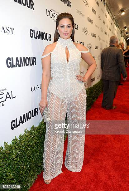 Honoree Ashley Graham attends Glamour Women Of The Year 2016 at NeueHouse Hollywood on November 14 2016 in Los Angeles California