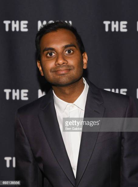 Honoree Aziz Ansari attends A Moth Summer Night's Dream The 20th Anniversary Moth Ball at Capitale on June 6 2017 in New York City