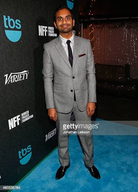 Honoree Aziz Ansari attends Variety's 5th annual Power of Comedy presented by TBS benefiting the Noreen Fraser Foundation at The Belasco Theater on...