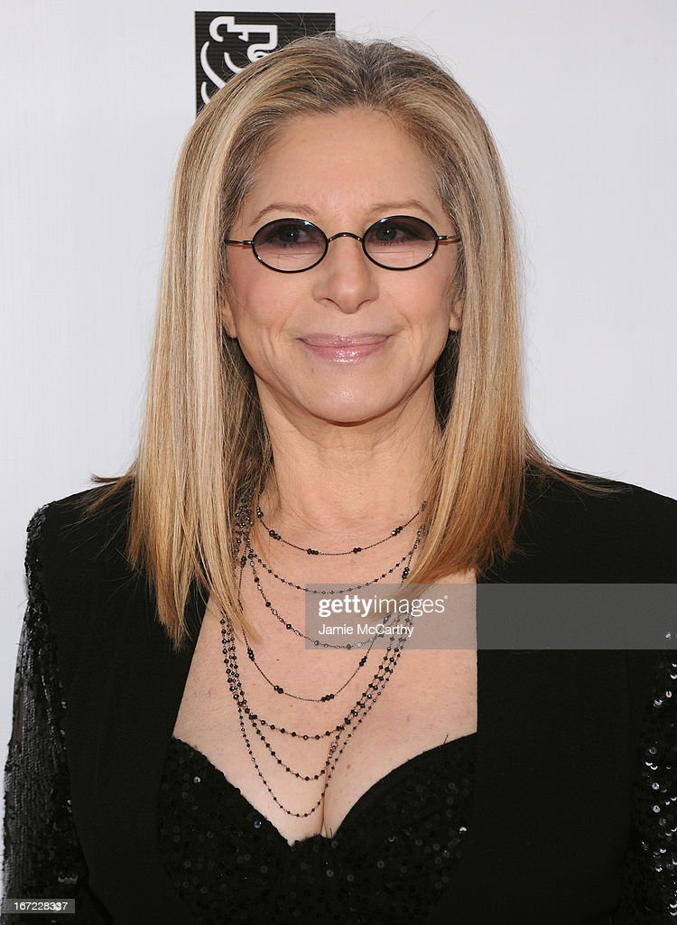 Honoree Barbra Streisand attends the 40th Anniversary Chaplin Award Gala at Avery Fisher Hall at Lincoln Center for the Performing Arts on April 22, 2013 in New York City.