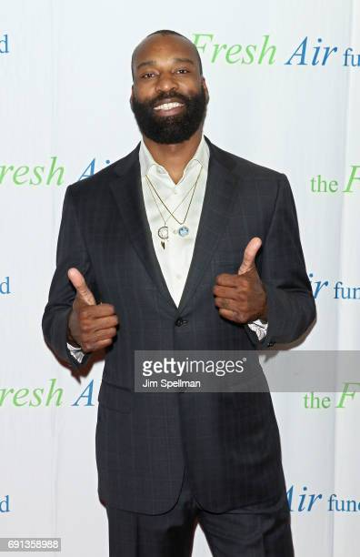 Honoree Baron Davis attends the 2017 Fresh Air Fund Spring Benefit at Pier Sixty at Chelsea Piers on June 1 2017 in New York City