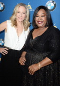Honoree Betsy Beers and producer/director Shona Rhimes attend the 66th Annual Directors Guild Of America Awards held at the Hyatt Regency Century...
