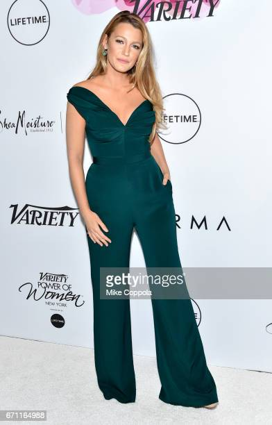 Honoree Blake Lively attends Variety's Power Of Women New York at Cipriani Midtown on April 21 2017 in New York City
