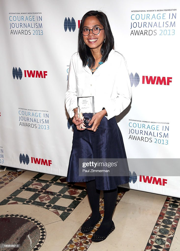 Honoree Bopha Phorn attends the International Women's Media Foundation's 2013 Courage In Journalism awards at Cipriani 42nd Street on October 23, 2013 in New York City.